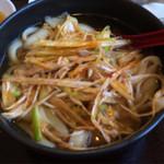 太公刀削麺 - ネギ刀削麺