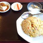 太公刀削麺 - 刀削麺セットのチャーハン