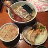 えにしんぷる - 料理写真:ネギペッパーメン ¥650 セット ¥350
