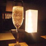 BAR ym - スパークリングワイン(スクード・ディ・コルト)