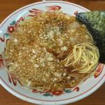 吾衛門 - 中華そば(¥550)玉ネギ多め(¥50)