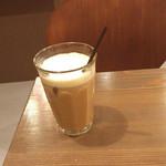 やなか珈琲店 - アイスミルクコーヒーR