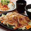 旬菜☓豚ロース生姜焼き定食