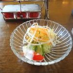 印度カレー 小いけ - サラダ