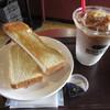 CAFE DI ESPRESSO 珈琲館 - 料理写真:トーストモーニングセット 350円