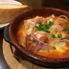 ノマキチ - 料理写真:サバとトマトのチーズ焼き(350円)