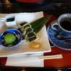抹茶さろん ひとこと - 料理写真:2015.10 茶々セット(750円)