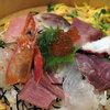 さかなやま 本場 - 料理写真:ランチ 完全限定15食!!豪華!海鮮桶ちらし 900円