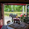 ほの香 - 内観写真:温かい季節はオープンテラスに