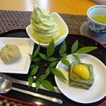 日本茶ひといき - 料理写真: