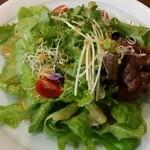 創作料理 まさぞう - 有機野菜のサラダ