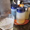 赤湯 とんとんラーメン - 料理写真:調味料。