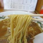 天徳 - 細めのストレート麺