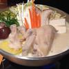 遊心 - 料理写真:鶏の豆乳鍋