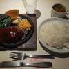 サンズ・ダイナー - 料理写真:BBQハンバーグ¥734-