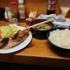 ふじ川食堂 - 料理写真:焼き魚定食(カウンター)