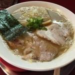 麺一盃 - こってり豚骨醤油味(700円)