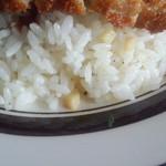 43810396 - 筍バターご飯