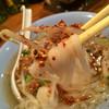 パッポンキッチン - 料理写真:米中細麺の魚団子入りそば