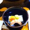千光寺山荘 - 料理写真:枝豆豆腐