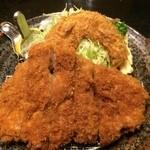 43849389 - ロースカツとカボチャのフライ【料理】