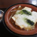 レストラン割烹 いずみ屋 - とうふトロロ煮 450円(税別)