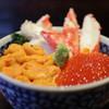 海鮮食堂 澤崎水産 - 料理写真:かに・うに・いくら丼 特上☆