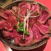 焼肉 いけや - 料理写真:ローストビーフ丼