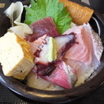 松乃栄 - 海の幸丼 税込¥800