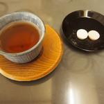 43855730 - お茶と菊寿糖