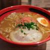 Ebisobaichigen - 料理写真:えびみそ 太麺 そのまま ☆