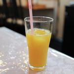 カレー専門店cafe New Delhi - 2015年10月再訪:オレンジジュース☆
