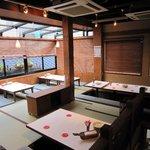 横浜チーズカフェ - 2階席はお座敷でくつろぎの空間を♪
