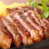 超肉!リブロースステーキ