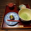 日本茶喫茶・蔵のギャラリー 棗 - 料理写真:[料理] 抹茶 & 生和菓子¥750 セット全景♪w