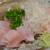 鶏繁 - 料理写真:ささみ刺身【2015年10月】