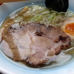 函館バスラーメン花道 - 塩ラーメン 500円