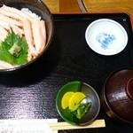 おけしょう鮮魚の海中苑 - 料理写真:かに身丼