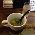 炭焼ダイニング 縁 - バルメニュー 幻の鶏スープとドリンク