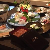 【ご宴会】料理長自慢の会席にてをお楽しみください。