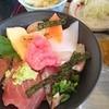 菜の花 - 料理写真:セットの海鮮丼