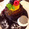 カフェアンジェ - 料理写真:ハロウィンパンケーキ
