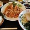 大酋長 - 料理写真:酋長唐揚げ定食+ミニラーメン