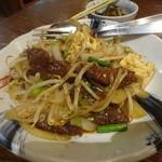 沖縄料理 ちゅらさん家 - レバーと島豆腐のピリ辛みそ炒め:660円税別