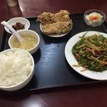 台湾料理 嘉宴楼 - (20151029)青椒牛肉絲定食