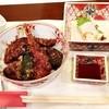 けんけん - 料理写真:[ここから 2015/9/22]  「海老・野菜天丼と刺身」