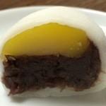 御菓子司 東寺餅 - くり餅 150円