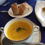ベル ヴァン ブルージュ - パン・カボチャのスープ