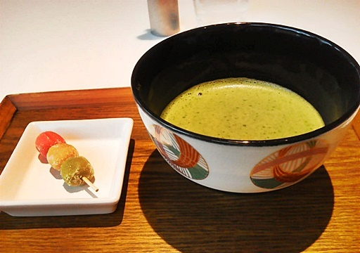 Cafe 椿 山種美術館内
