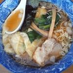 ら麺亭 - 肉雲呑麺